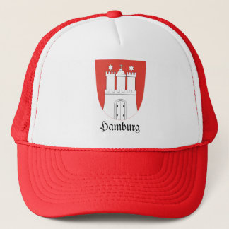 Hamburg Wappen Coat of Arms Trucker Hat