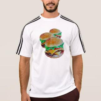 Hamburger active wear,original pop art design T-Shirt