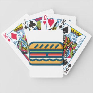 Hamburger Bicycle Playing Cards