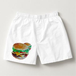 Hamburger boxers,original pop art design boxers