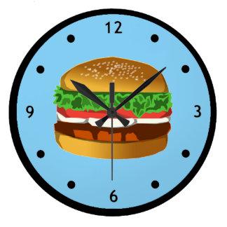 Hamburger Clock