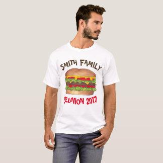 Hamburger Cookout Family Picnic Reunion Customized T-Shirt
