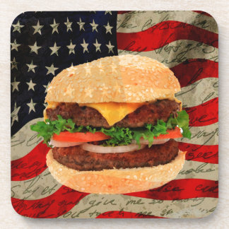 Hamburger Drink Coasters