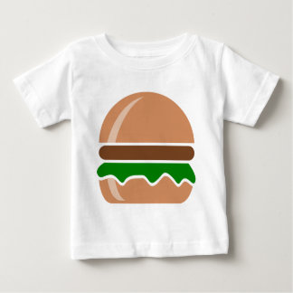 hamburger fast food a sandwich baby T-Shirt
