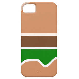 Hamburger fast food a sandwich case for the iPhone 5