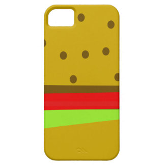 Hamburger food fast food burger barely there iPhone 5 case