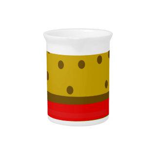 Hamburger food fast food burger pitcher