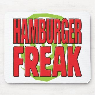 Hamburger Freak R Mouse Pads