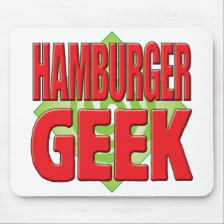 Hamburger Geek v2 Mouse Mats