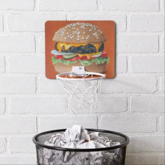 Hamburger Illustration mini hoop