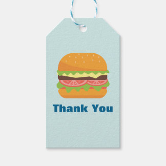 Hamburger Illustration Thank You