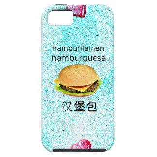 Hamburger In Finnish, Spanish, And Chinese iPhone 5 Case