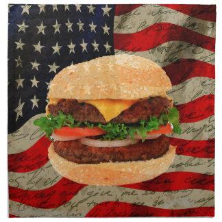 Hamburger Napkin