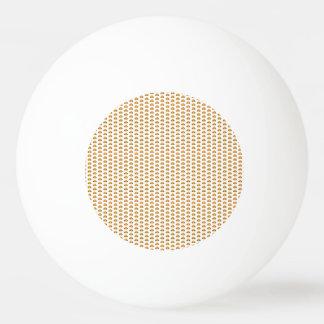 Hamburger pattern ping pong ball
