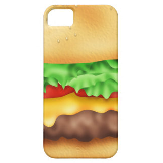 Hamburger with the lot! iPhone 5 cover