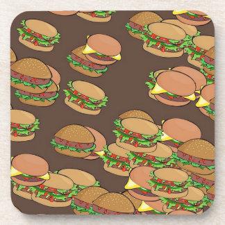 Hamburgers And Cheeseburgers Beverage Coaster