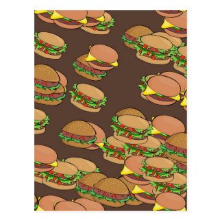 Hamburgers And Cheeseburgers Postcard