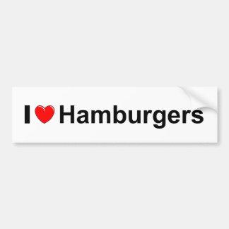 Hamburgers Bumper Sticker