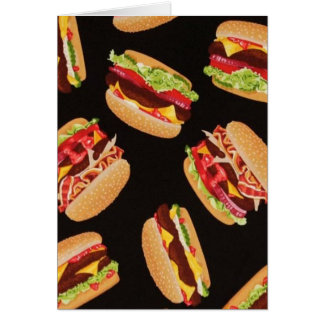 Hamburgers Card