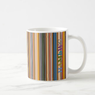 HAMbWG 11 oz Mug - Colorful Bars