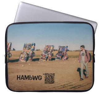 """HAMbWG - Auto Art - Neoprene 15"""" Laptop Laptop Sleeve"""