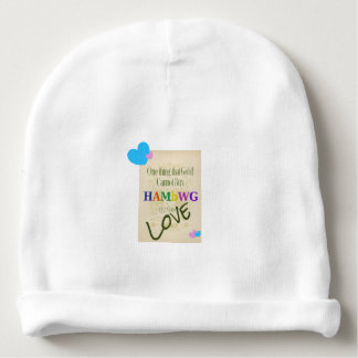 HAMbWG - Baby Beanie - One Thing Gold Cannot Buy
