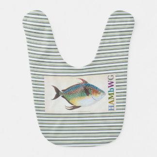 HAMbWG - Baby Bib - Fish w Logo
