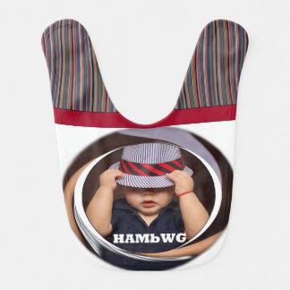 HAMbWG - Baby Bib -  HAMbWG Bambino