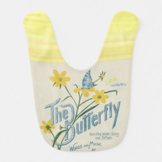 HAMbWG - Baby Bib - The Butterfly