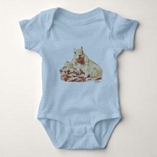 HAMbWG Baby Blue Snap T-Shirt - Squirrel