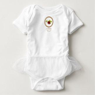 HAMbWG Baby Girl Tutu , T or Bodysuit - Rose