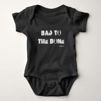 HAMbWG Bad to the Bone - Infant Snap T - Boys Baby Bodysuit