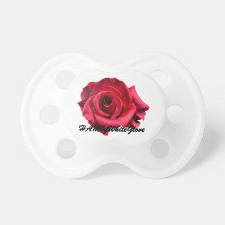 HAMbWG - BooginHead® Pacifier - Rose w Logo