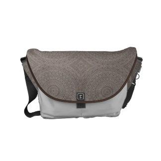 HAMbWG Brown Boho Design  Messenger Bag
