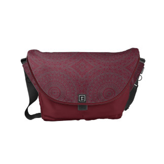 HAMbWG Cherry Boho Design  Messenger Bag