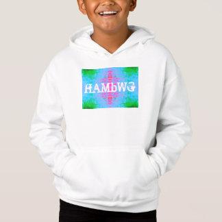 HAMbWG - Children's  T Shirt -  Blue Green Pink