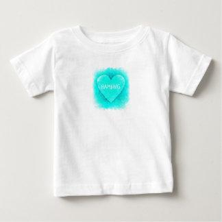 HAMbWG - Children's  T Shirt - Charming Heart Aqua