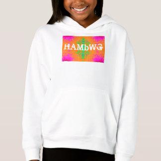 HAMbWG - Children's  T Shirt -  Pink Orange Green