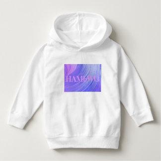 HAMbWG - Children's  T Shirt - Purple Swirl w Logo
