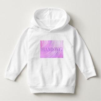 HAMbWG - Children's  T Shirt - Violet Swirl w Logo