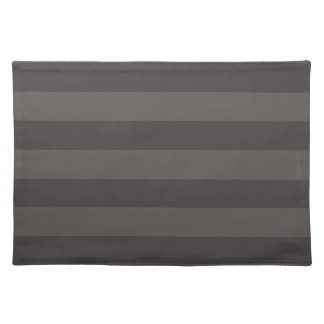 HAMbWG - Cloth Placemat - Two-tone Large Stripe