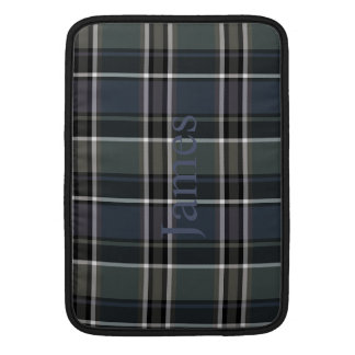 HAMbWG - Computer Cases - Gray-Blue Plaid