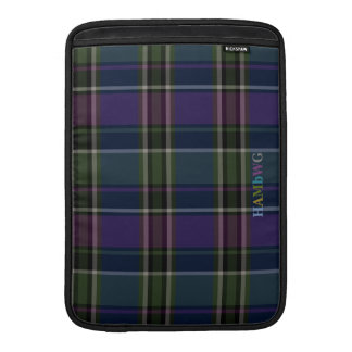 HAMbWG - Computer Cases - Green & Purple Plaid