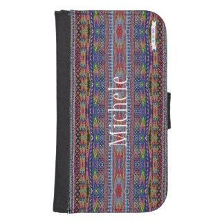 HAMbWG Design  Phone Wallet Case - Hippy Mix