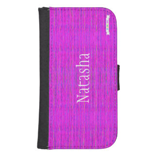HAMbWG Design  Phone Wallet Case - Pink Mix