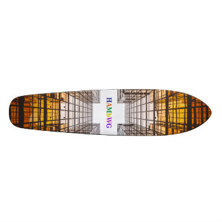 HAMbWG  Designed Skateboard - Architecture