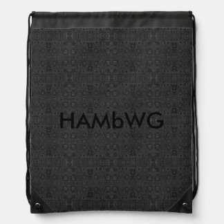 HAMbWG - Drawstring Backpack - Charcoal