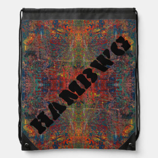 HAMbWG - Drawstring Bag - Muddy Putty