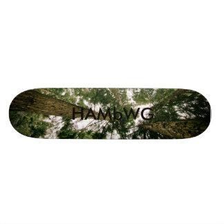 HAMbWG Dsgn - Hard Maple Skateboard - Forest
