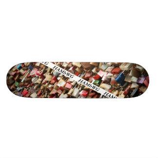 HAMbWG Dsgn - Hard Maple Skateboard - Padlocks